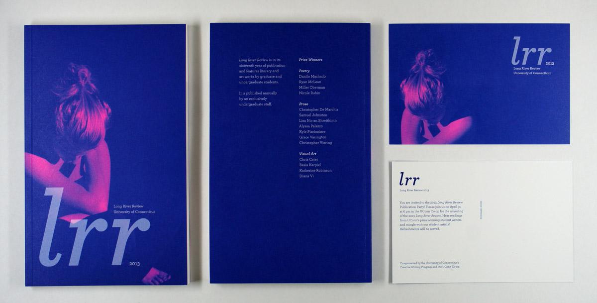 Long River Review Cara Borelli graphic designer