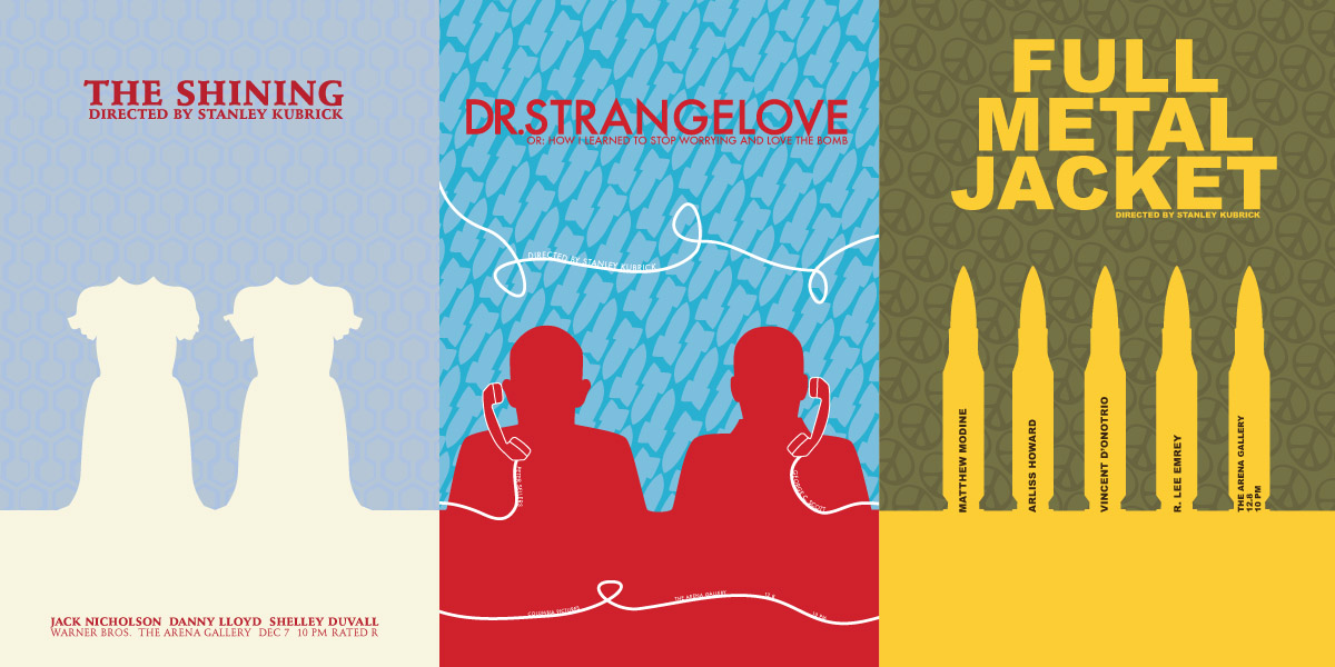 Movie Posters Cara Borelli graphic designer
