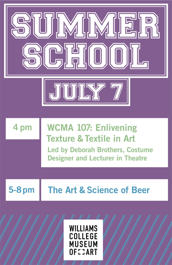 Summer School Atrium Sign Cara Borelli Graphic Designer