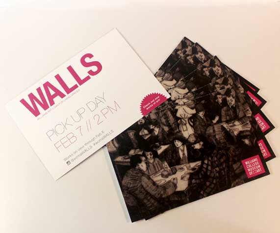 WALLS Postcard Cara Borelli Graphic Designer